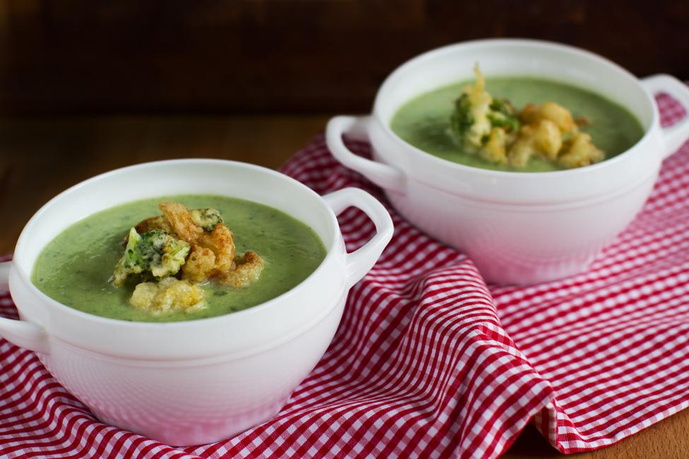 Supa crema de conopida si brocoli