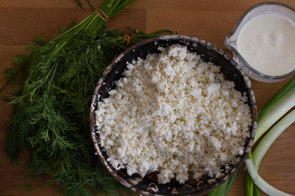 crema de branza cu marar si ceapa verde ingrediente