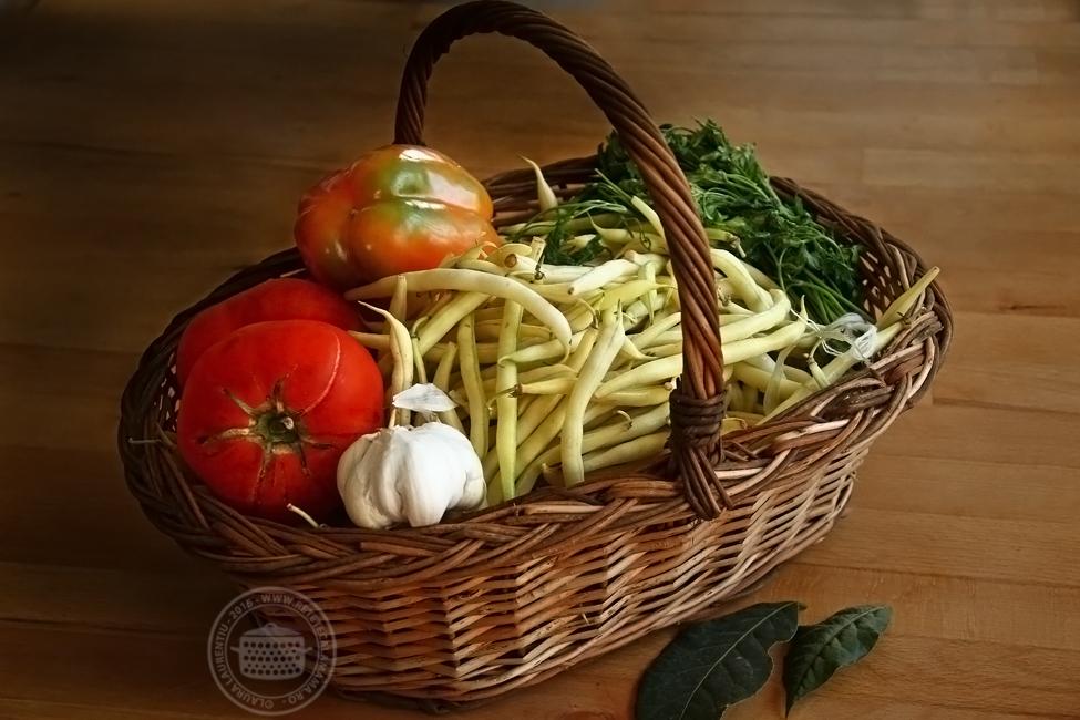 fasole pastai cu usturoi - ingrediente rtm
