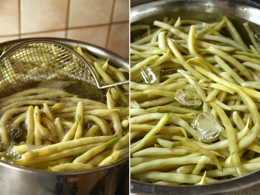 fasole pastai cu usturoi - pastai aiti, aite - preparare 2