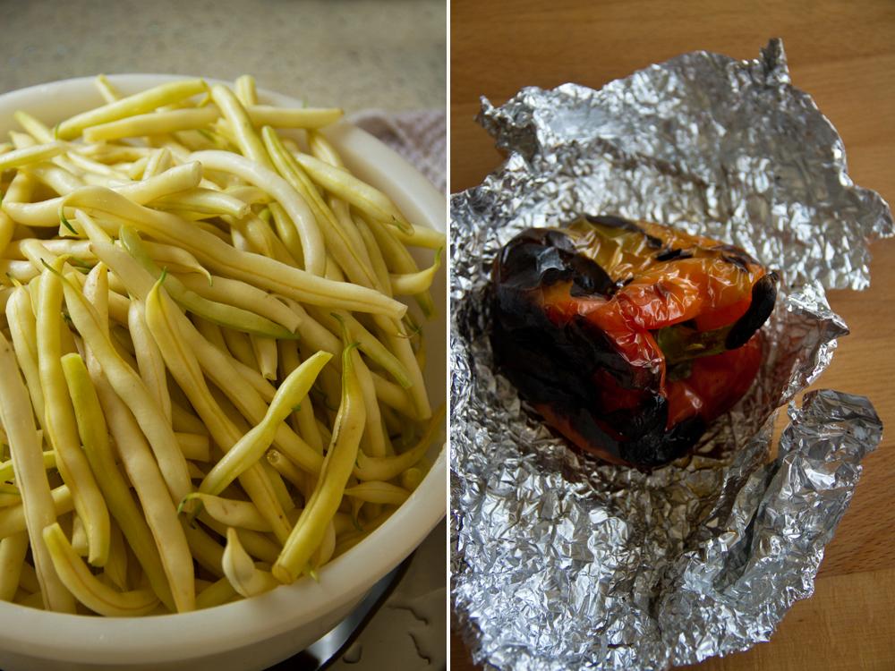 fasole pastai cu usturoi - pastai aiti - preparare 1