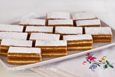 """Preparare Prăjitura """"Ecler"""" la tavă 2"""