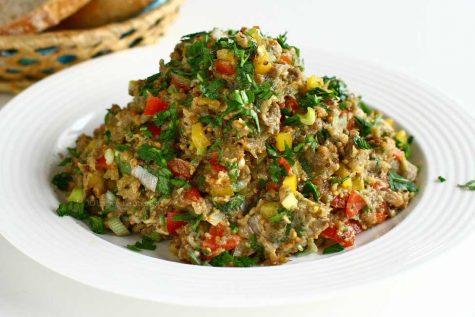 Salată de vinete libaneză