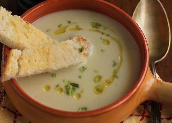 reteta supa crema de napi