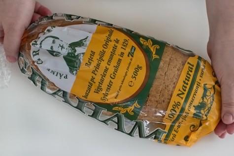 Pâinea Sylvester Graham, ce este și de ce s-o mâncăm