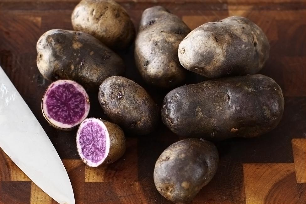 cartofi violet de la Selgros Timisoara