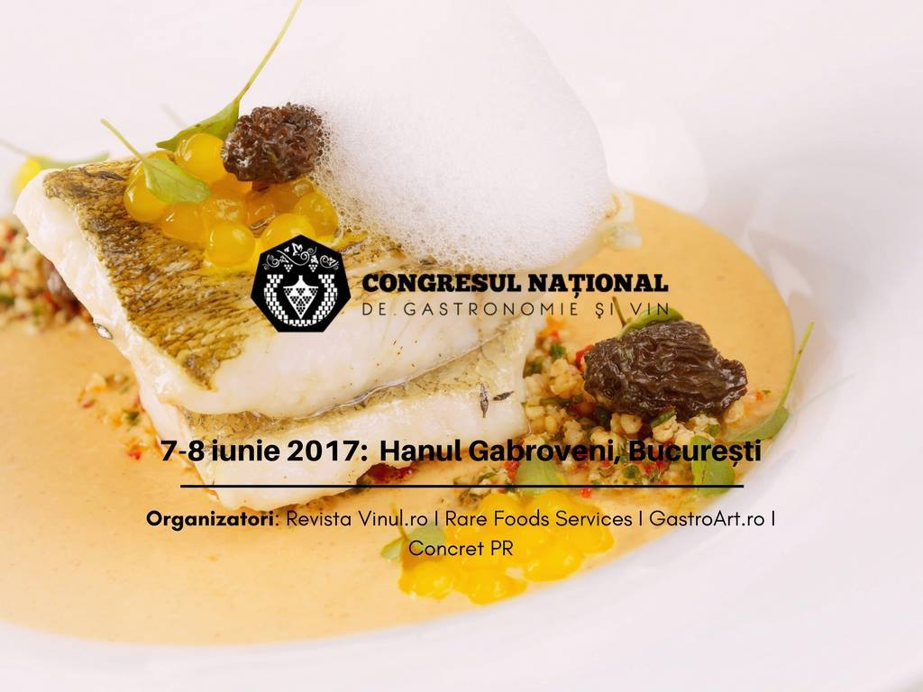 congresul national de gastronomie si vin