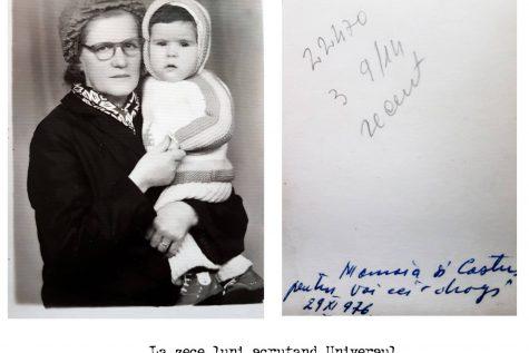 Costin Bărbutz si bunica