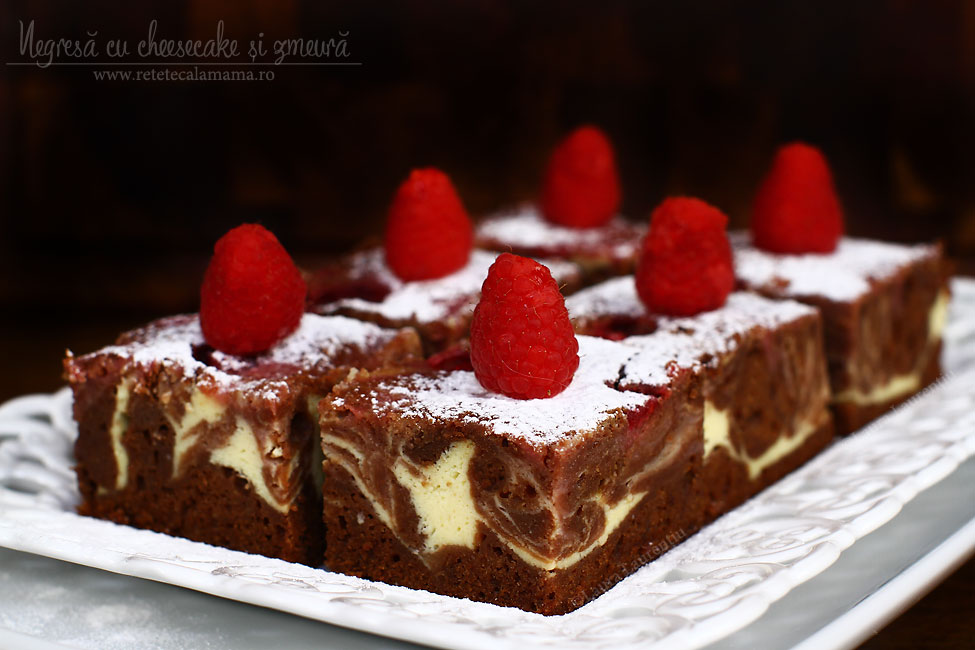 reteta cheesecake brownie