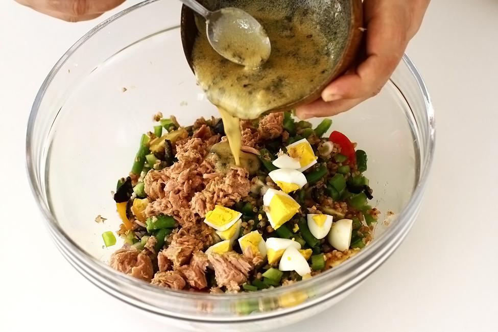 salata cu ton rio mare in stil nicoise asamblare