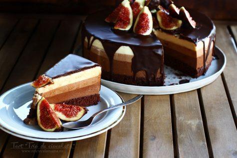 Tort Trio cu ciocolată – rețetă video