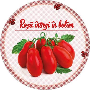 eticheta rosii in bulion