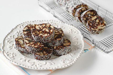 Salam de biscuiți, rețetă de post