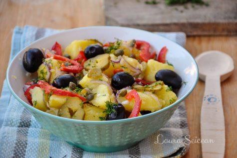 Salată orientală, rețetă simplă de post