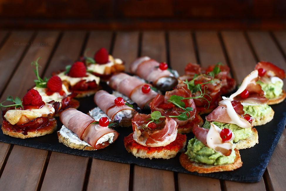 4 feluri de aperitive festive - rapid și ușor de făcut