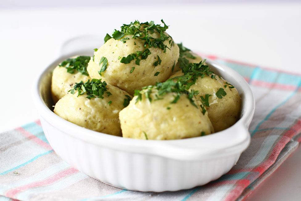 Găluște de cartofi - rețetă de garnitură