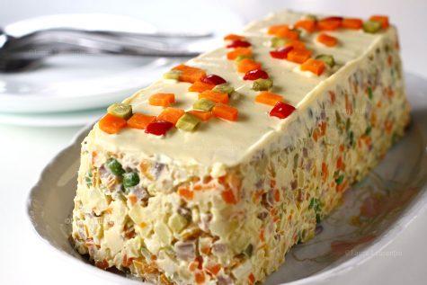 Rețetă simplă și concisă de salată de boeuf