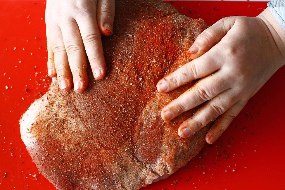 condimentare carne de porc pentru friptura