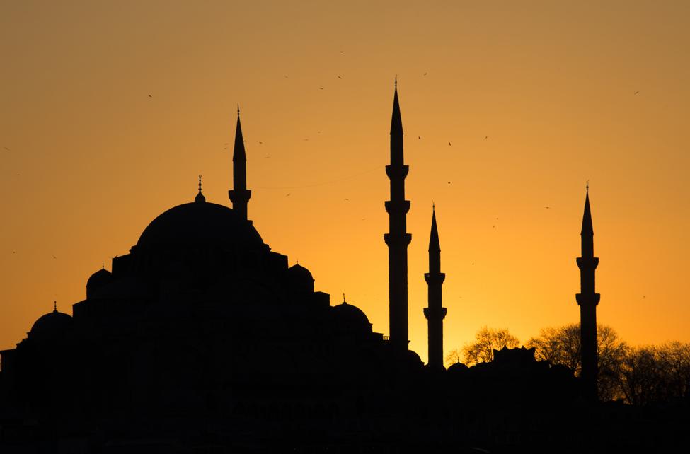 apus de soare Istanbul