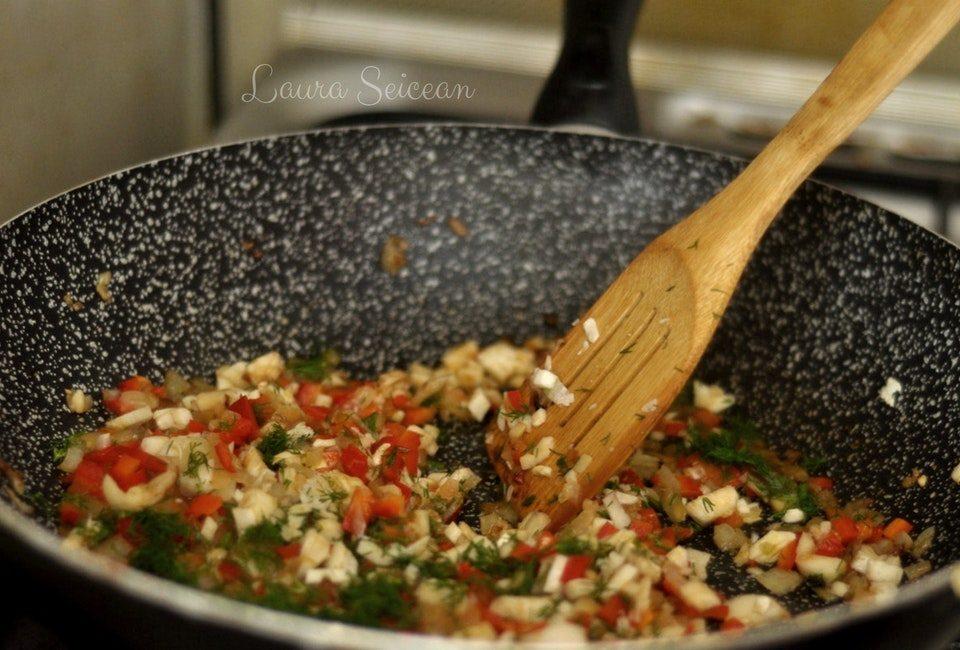 Preparare Ciuperci umplute la cuptor (de post) 8