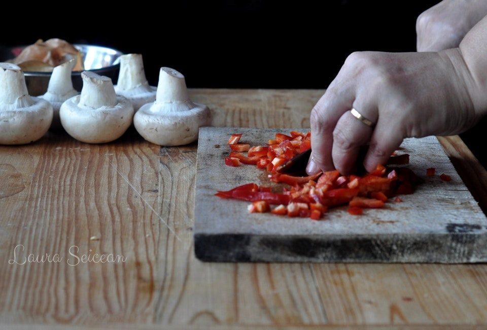 Preparare Ciuperci umplute la cuptor (de post) 3