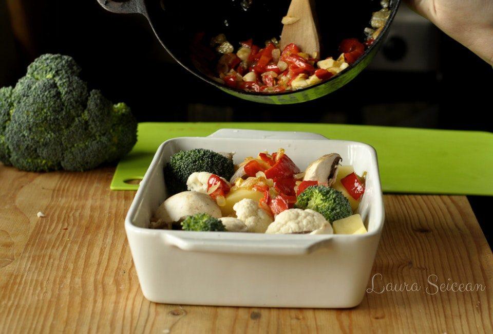 Preparare Ghiveci de legume de iarnă (de post) 7