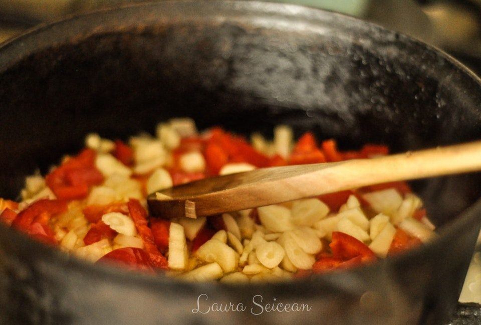 Preparare Ghiveci de legume de iarnă (de post) 4