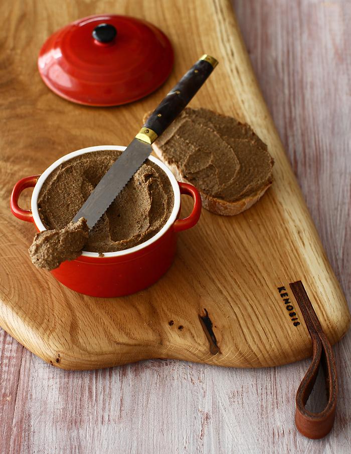 pate vegetal de ciuperci si linte reteta de post reteta lauralaurentiu
