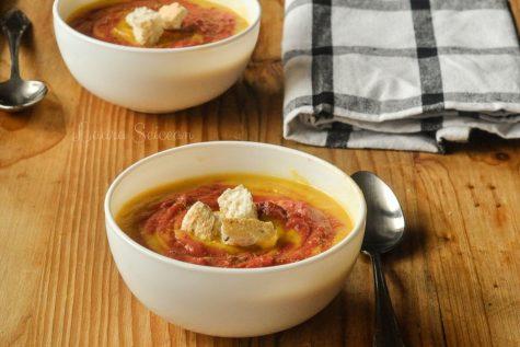 Supa cremă de legume (de post)