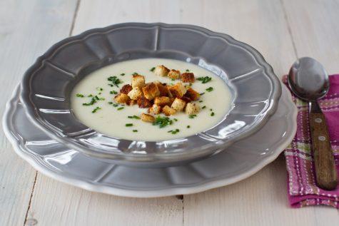 Supă cremă de conopidă – rețetă video