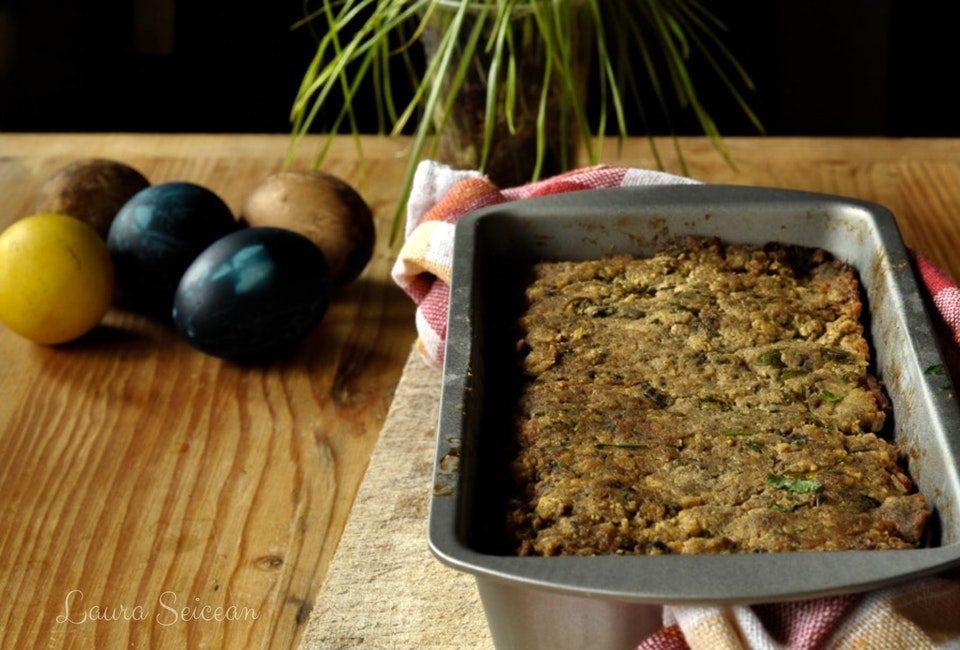 Preparare Drob de pui cu ciuperci - rețetă simplă 13