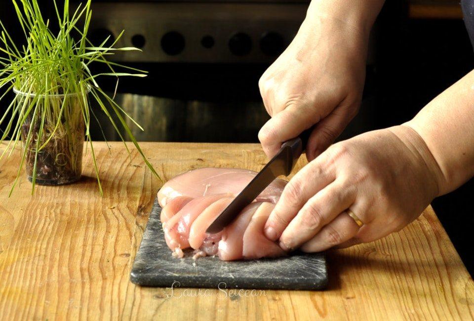 Preparare Drob de pui cu ciuperci - rețetă simplă 3
