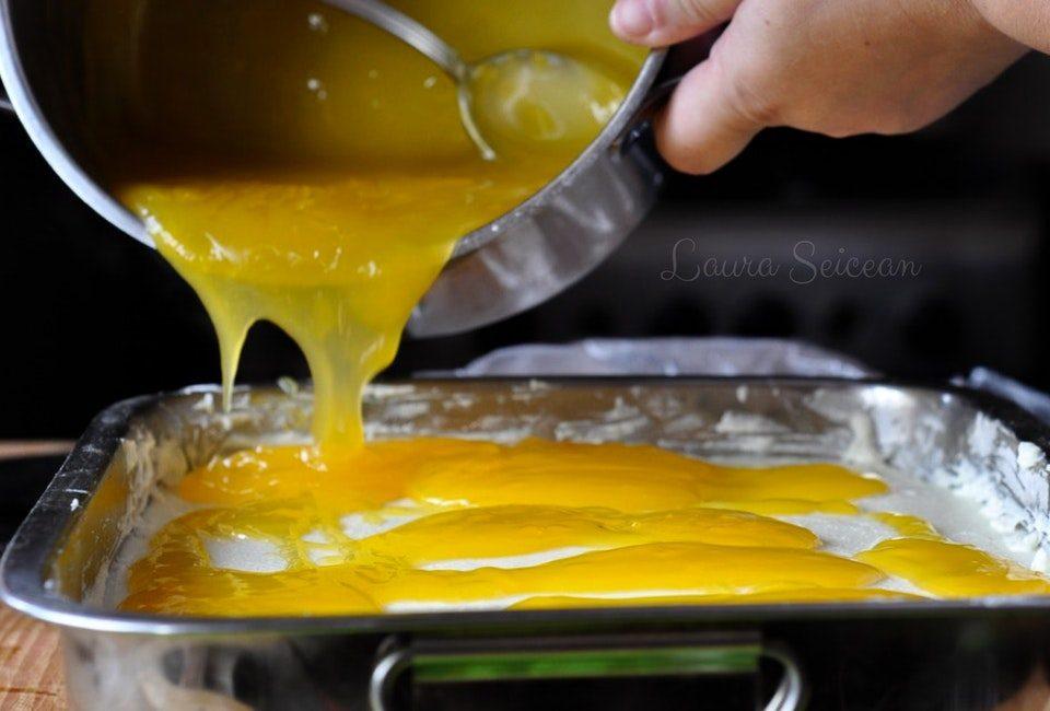 Preparare Prăjitura Fanta - prăjitură de casă cu brânză și jeleu de portocale 18