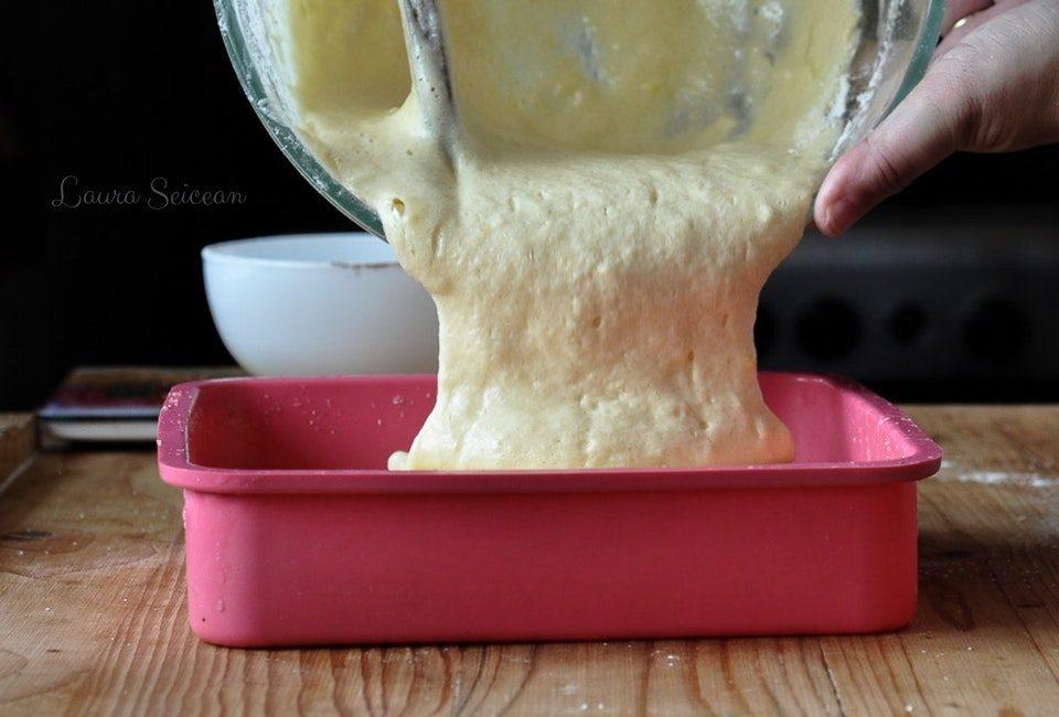 Preparare Cheesecake cu mascarpone și căpșuni 4