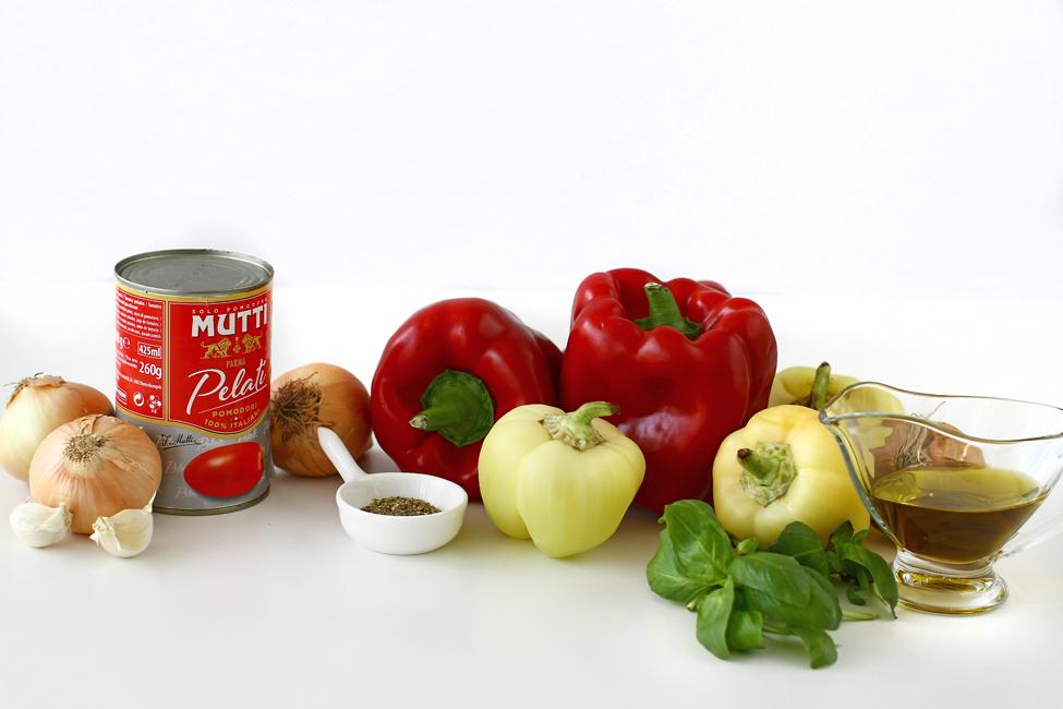 peperonata mancare de ardei reteta ingrediente