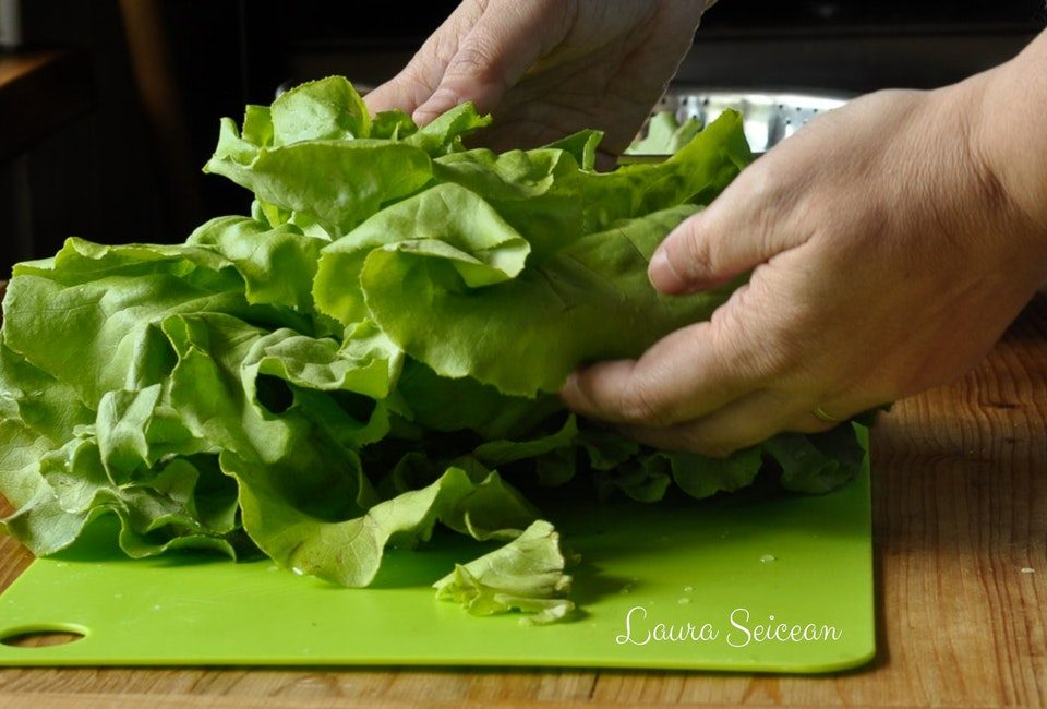 Preparare Salată verde în trei variante de dressing 1