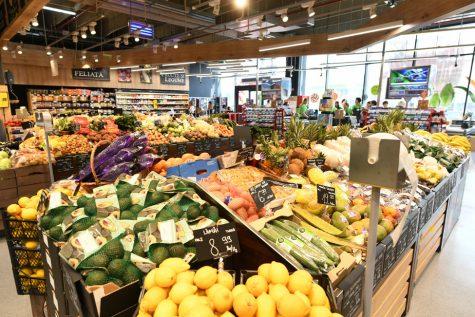 hypermarket cumparaturi raion fructe legume