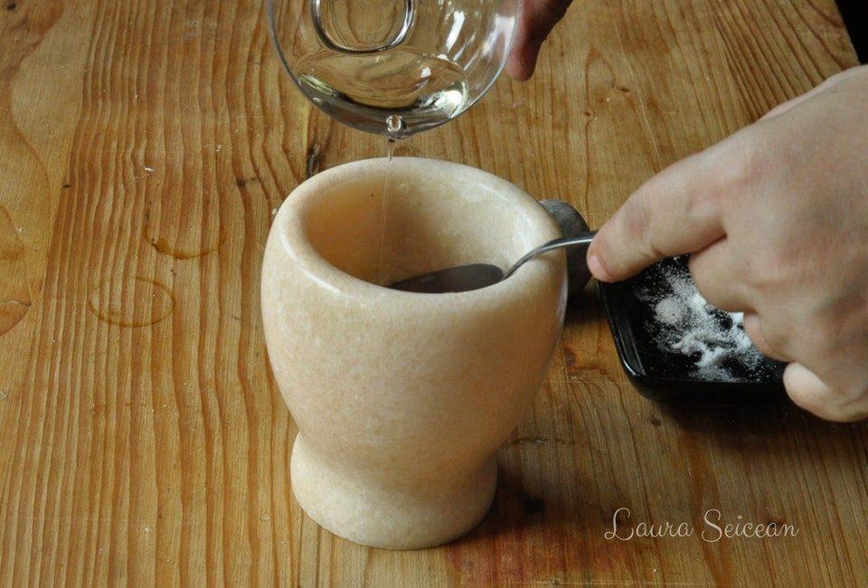 Preparare Mujdei de usturoi preparat în 5 variante diferite 6