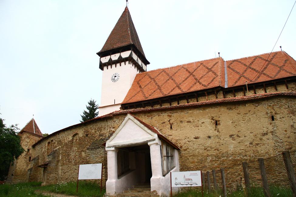 mesendorf - biserica fortificata