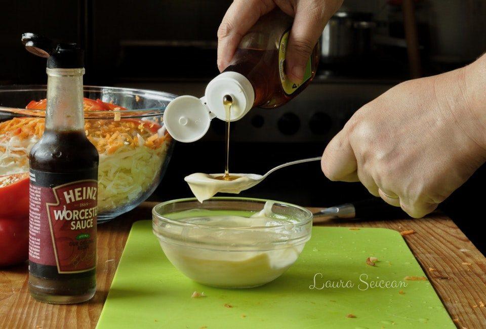 Preparare Salată coleslaw 7