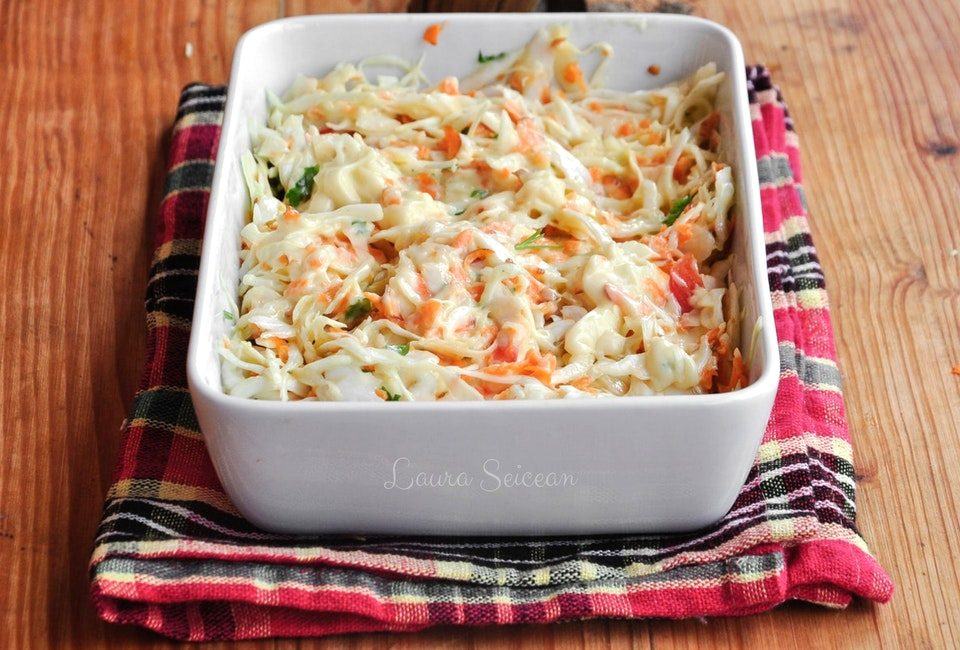 Preparare Salată coleslaw 10