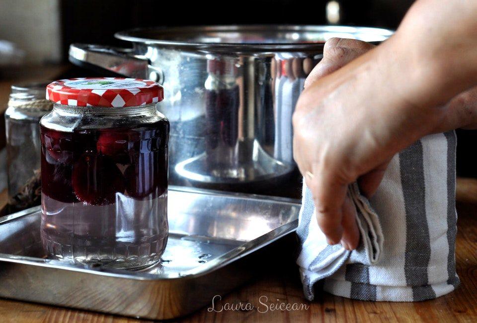 Preparare Compot de prune 6