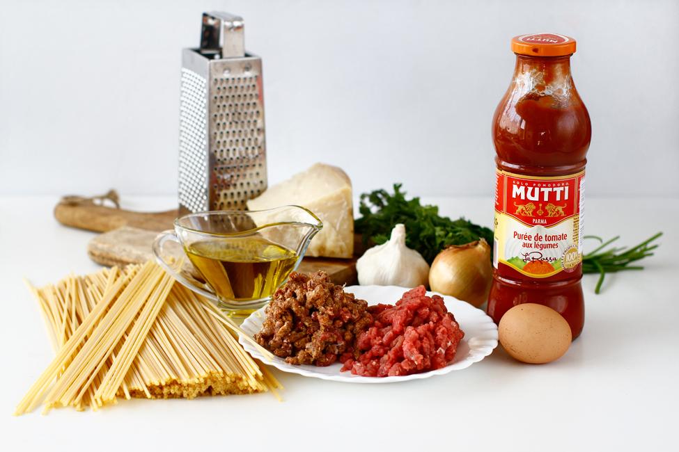spaghete cu chiftelute reteta pas cu pas ingrediente