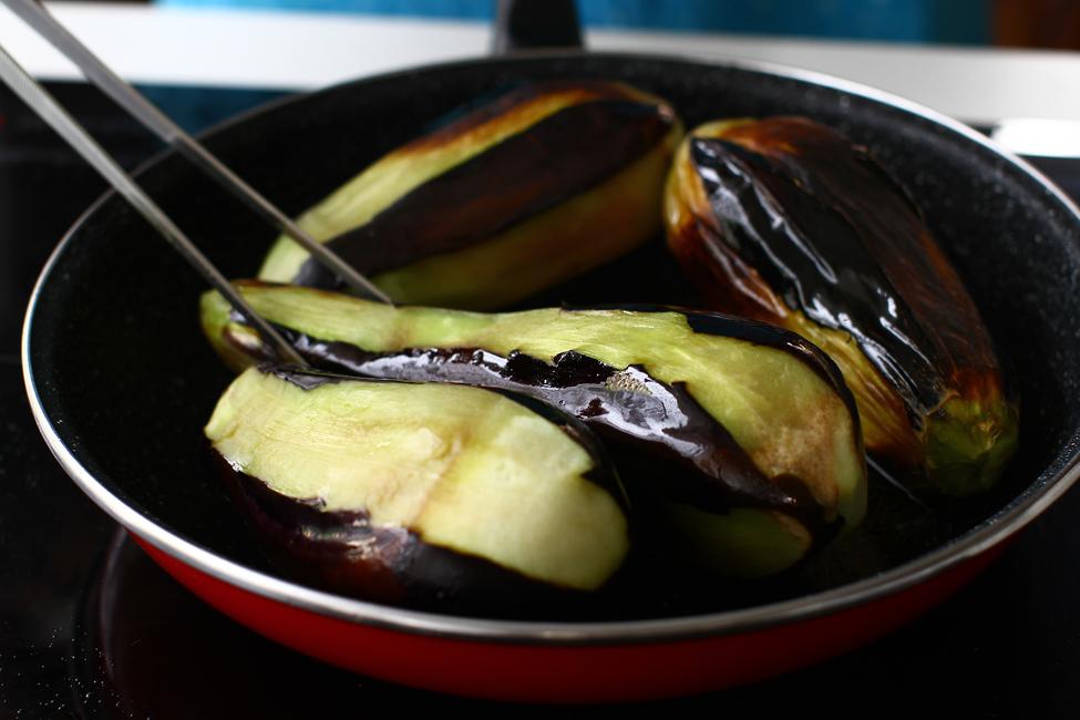 vinete umplute cu carne la cuptor vinete karnyarik reteta pas cu pas mod de preparare prajire vinete