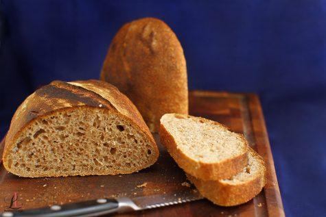 Pâine cu făină spelta și maia naturală