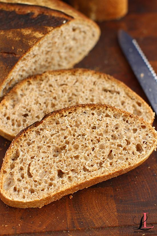 paine cu faina spelta si maia naturala reteta lauralaurentiu