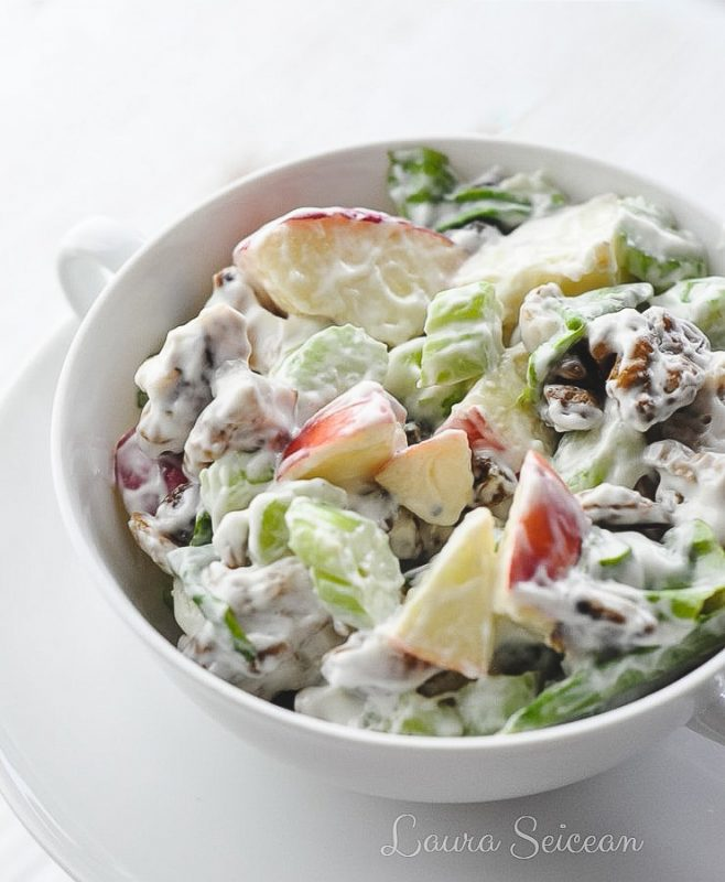 Preparare Salata Waldorf 9