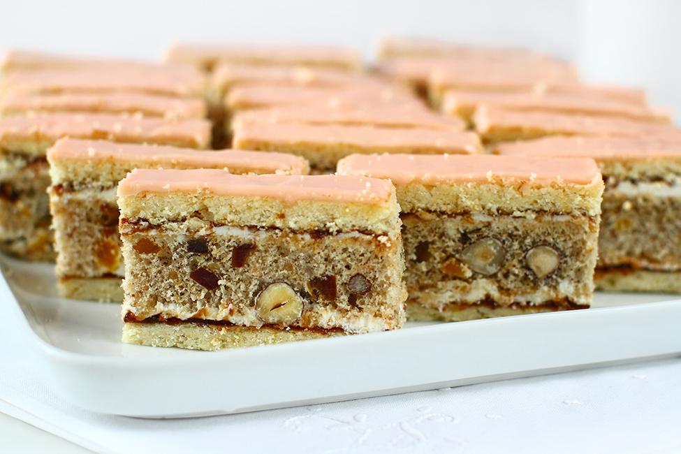 Prăjitura Curcubeu - Regenbogen Schnitte - rețetă veche șvăbească