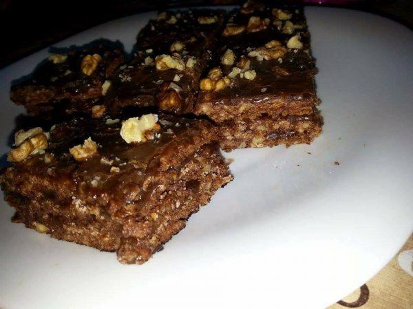 Prăjitura Sumegi încercată de Alina Popa