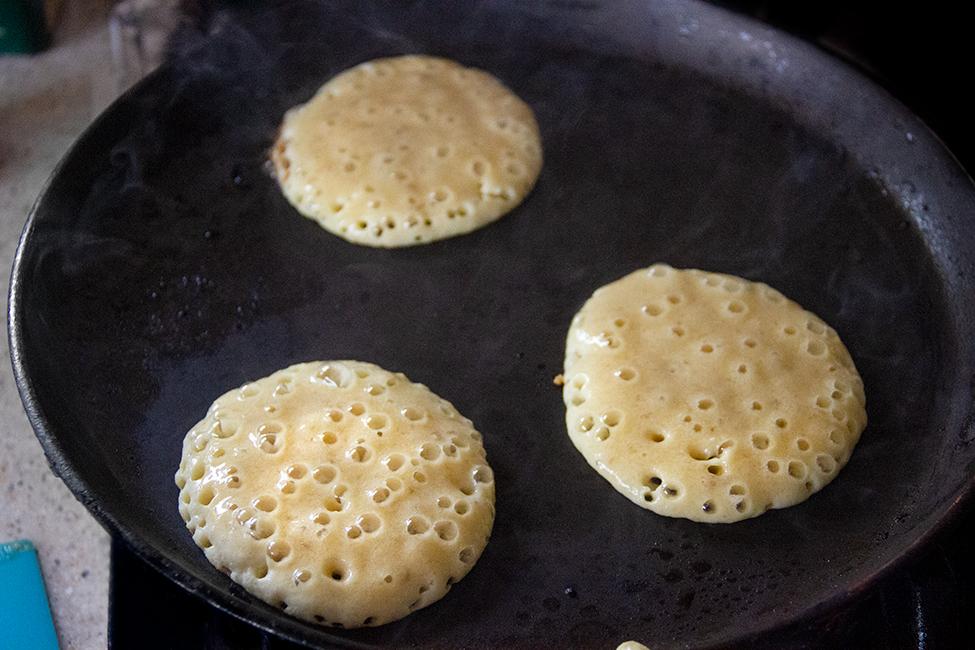 clatite americane cu banane reteta pancakes fara gluten mod de preparare